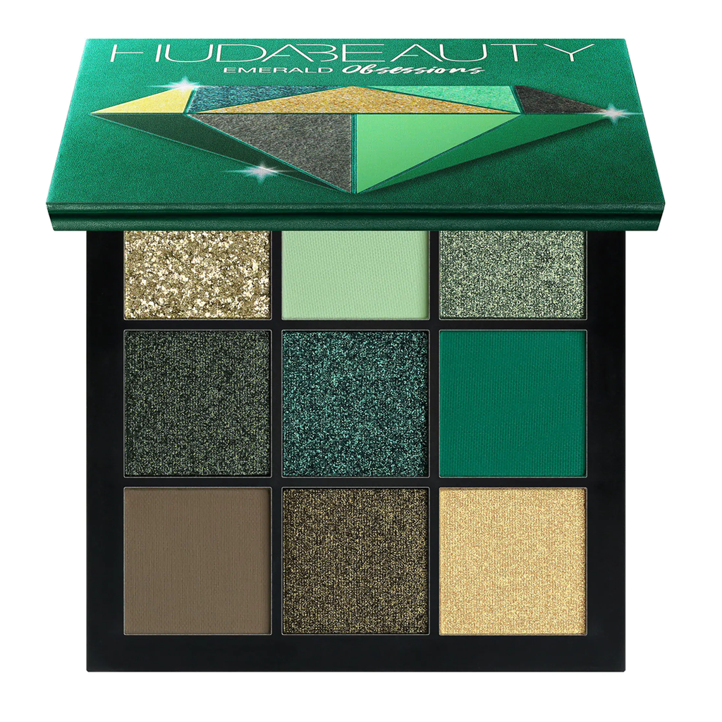HUDA BEAUTY - OBSESSIONS EYESHADOW PALETTE (EMERALD)