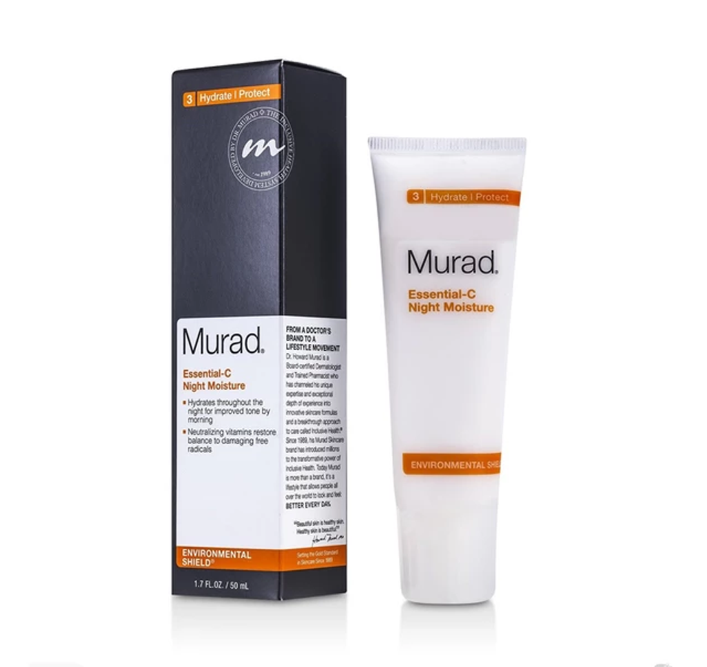 MURAD - ESSENTIAL-C NIGHT MOISTURE  ENVIRONMENTAL SHIELD (3 HYDRATE/PROTECT) - MyVaniteeCase