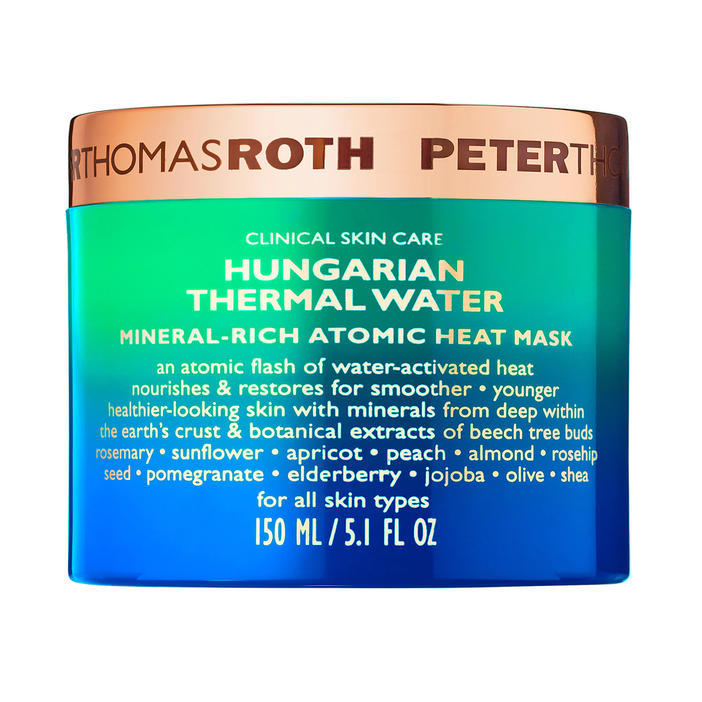 PTR - HUNGARIAN THERMAL WATER MINERAL-RICH ATOMIC HEAT MASK (150 ML)