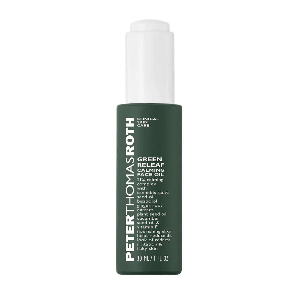 PTR - GREEN RELEAF CALMING FACE OIL (30 ML) - MyVaniteeCase