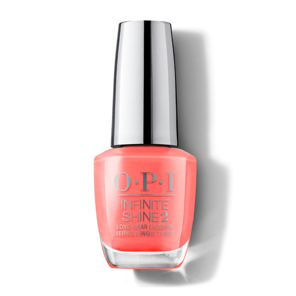 OPI NEON -  ORANGE YOU A ROCK STAR INFINITE SHINE