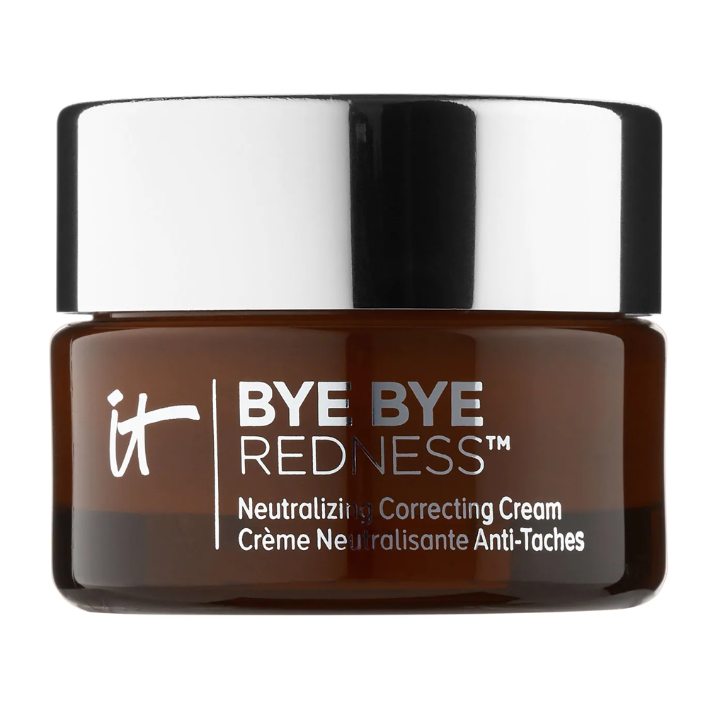 IT COSMETICS - BYE BYE REDNESS NEUTRALIZING COLOR-CORRECTING CREAM (TRANSFORMING PORCELAIN BEIGE)