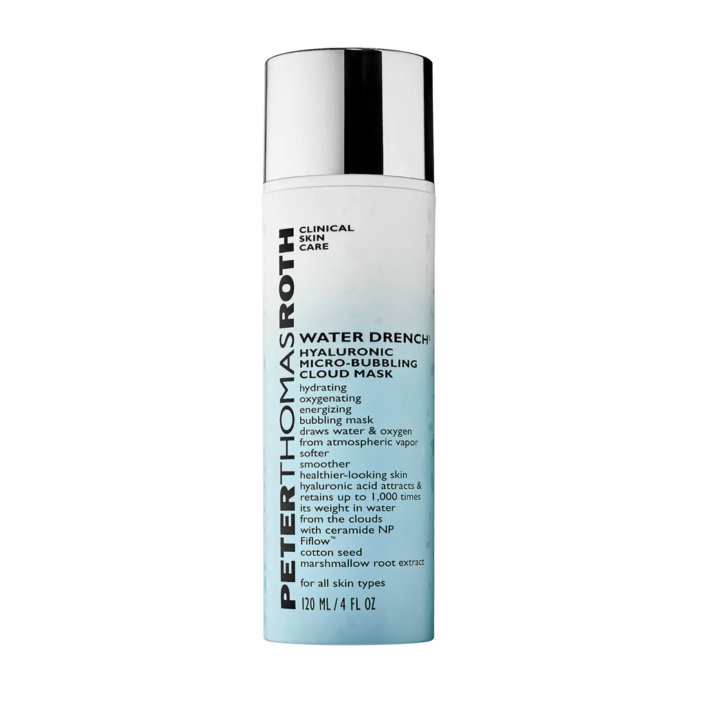 PTR - WATER DRENCH HYALURONIC MICRO-BUBBLING CLOUD MASK (120 ML)