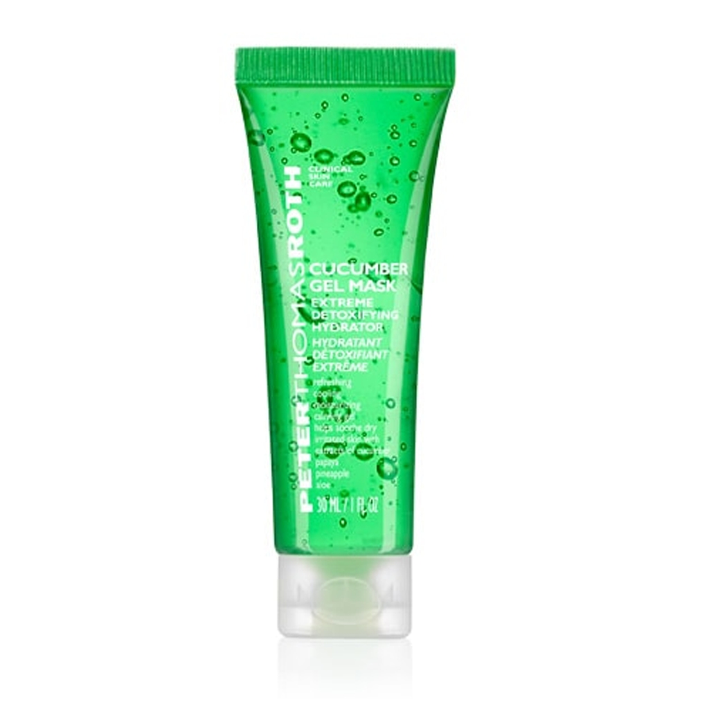 PTR - CUCUMBER GEL MASK-EXTREME DETOXIFYING HYDRATOR (30 ML)