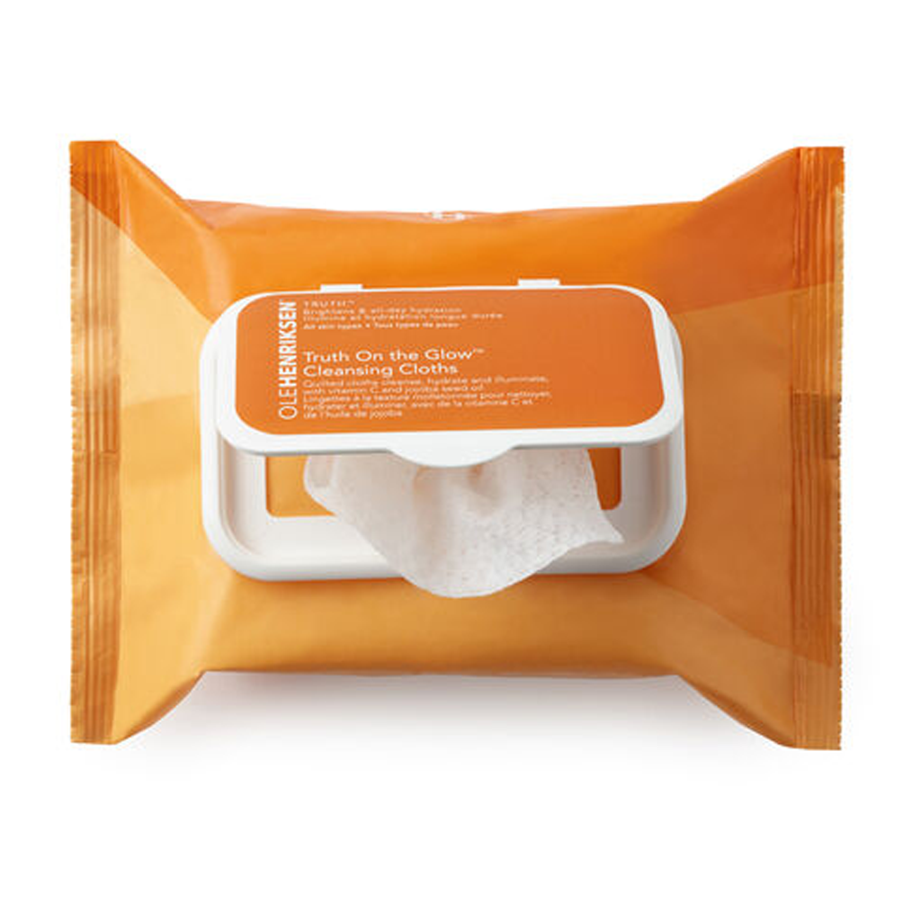 OLE HENRIKSEN - TRUTH™ ON THE GLOW CLEANSING CLOTHS - MyVaniteeCase