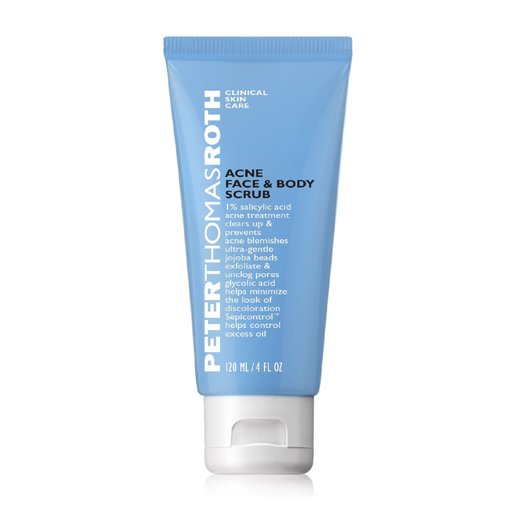 PTR - ACNE FACE & BODY SCRUB (120 ML)
