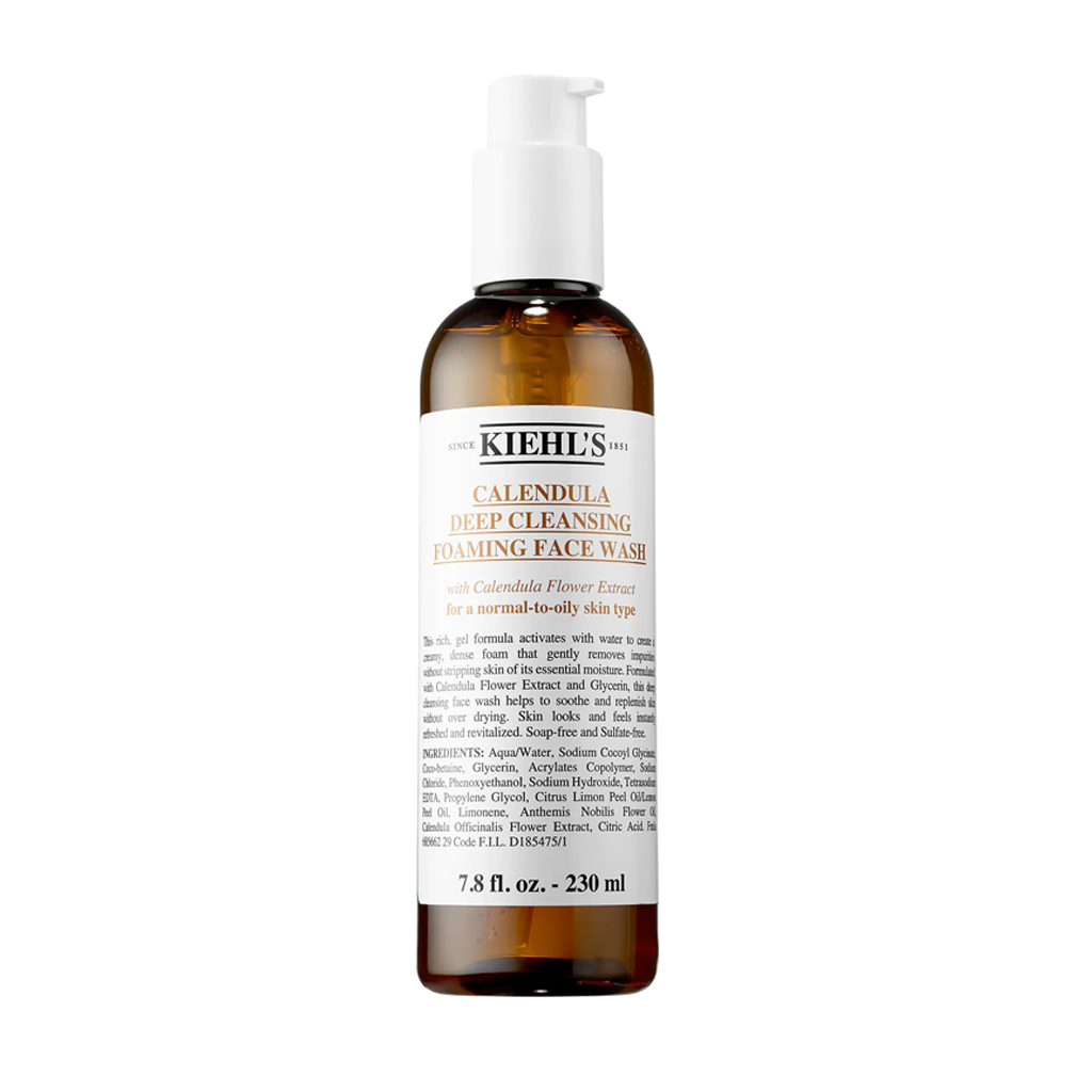 KIEHLS - CALENDULA DEEP CLEANSING FOAMING FACE WASH (230 ML)