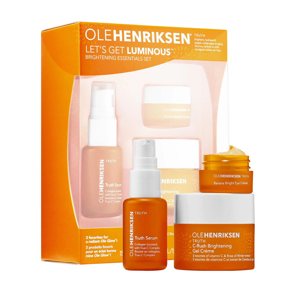 OLE HENRIKSEN - LET'S GET LUMINOUS™ BRIGHTENING ESSENTIALS SET - MyVaniteeCase