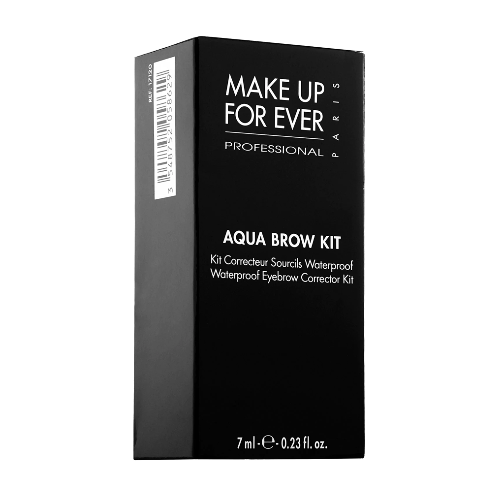 MAKE UP FOR EVER - AQUA BROW KIT (BROWN BLACK)