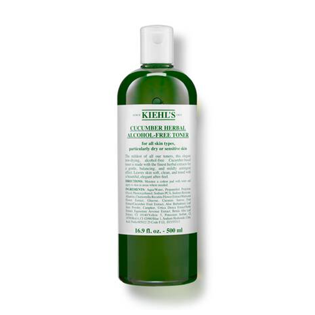 KIEHLS - CUCUMBER HERBAL ALCOHOL-FREE TONER (500 ML) - MyVaniteeCase
