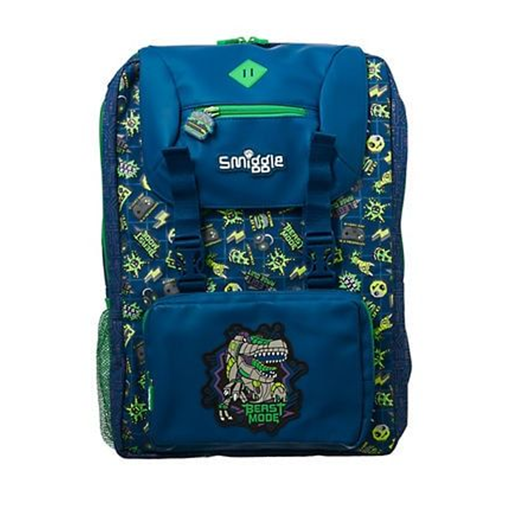 SMIGGLE - EXPRESS FOLDOVER BACKPACK NAVY