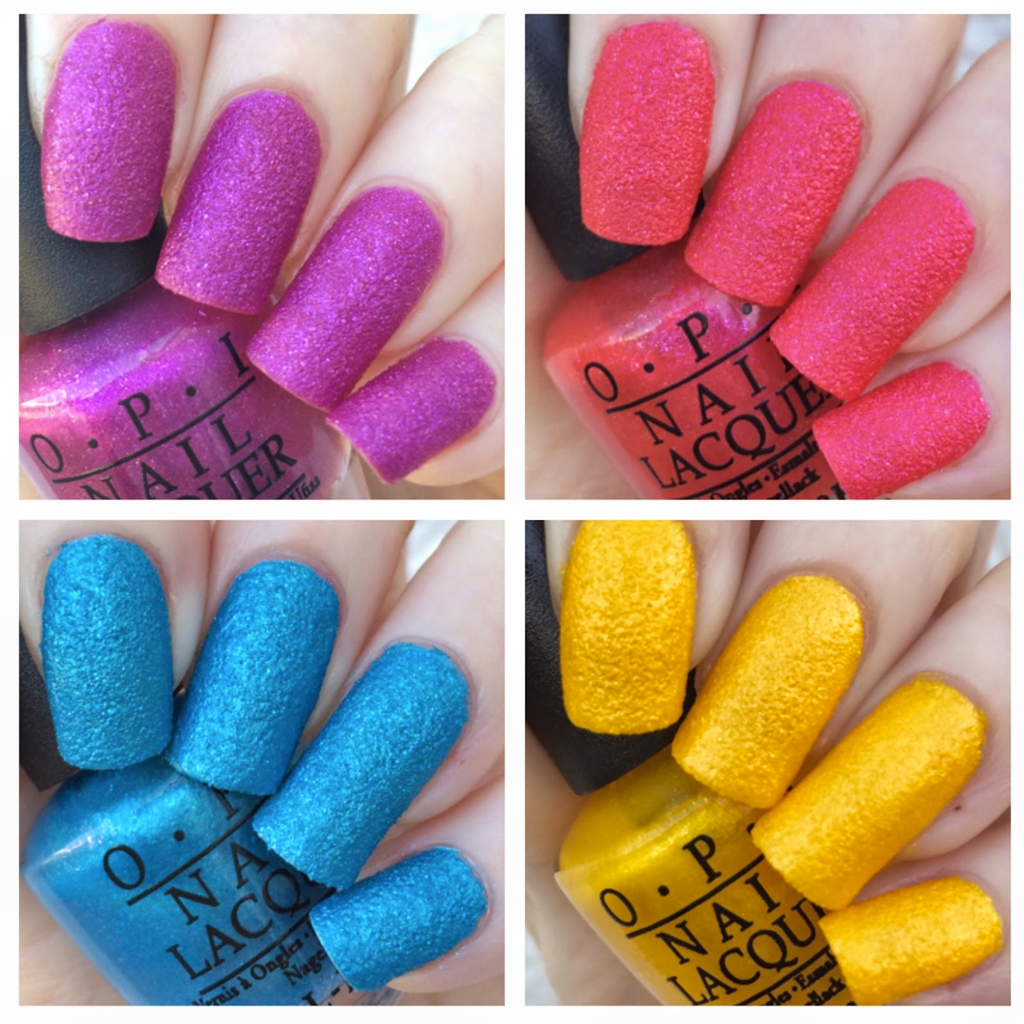 OPI - BRAZIL BEACH SANDIES MINI 4 COUNT - MyVaniteeCase