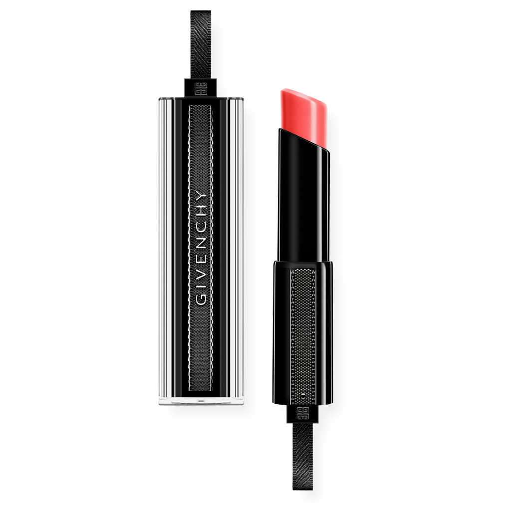 GIVENCHY - ROUGE INTERDIT VINYL EXTREME SHINE LIPSTICK CORAIL REDOUTABLE