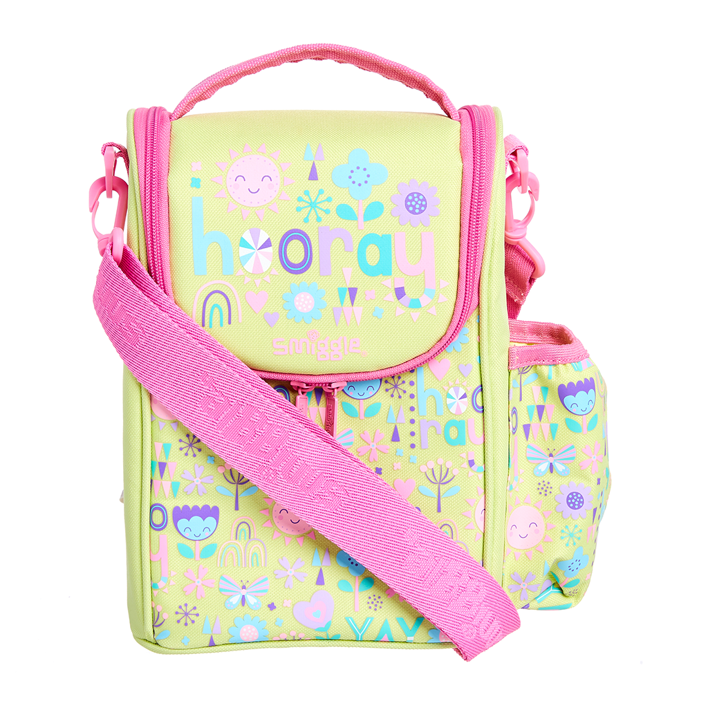 SMIGGLE  - HOORAY LEMON JUNIOR STRAP LUNCHBOX - MyVaniteeCase