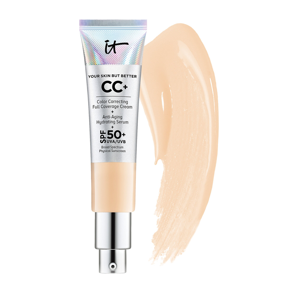 IT COSMETICS - CC+ CREAM WITH SPF 50+ (LIGHT)