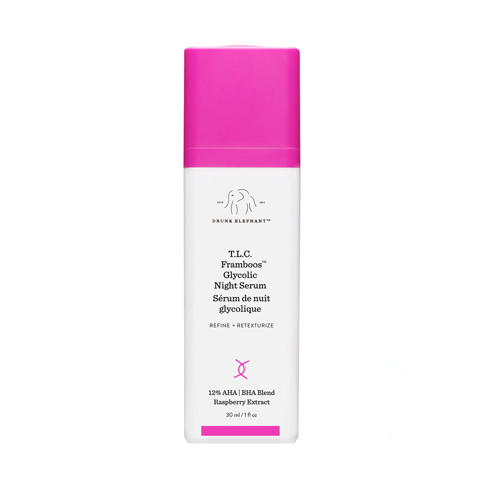 DRUNK ELEPHANT - T.L.C. FRAMBOOS™ GLYCOLIC RESURFACING NIGHT SERUM (50 ML)