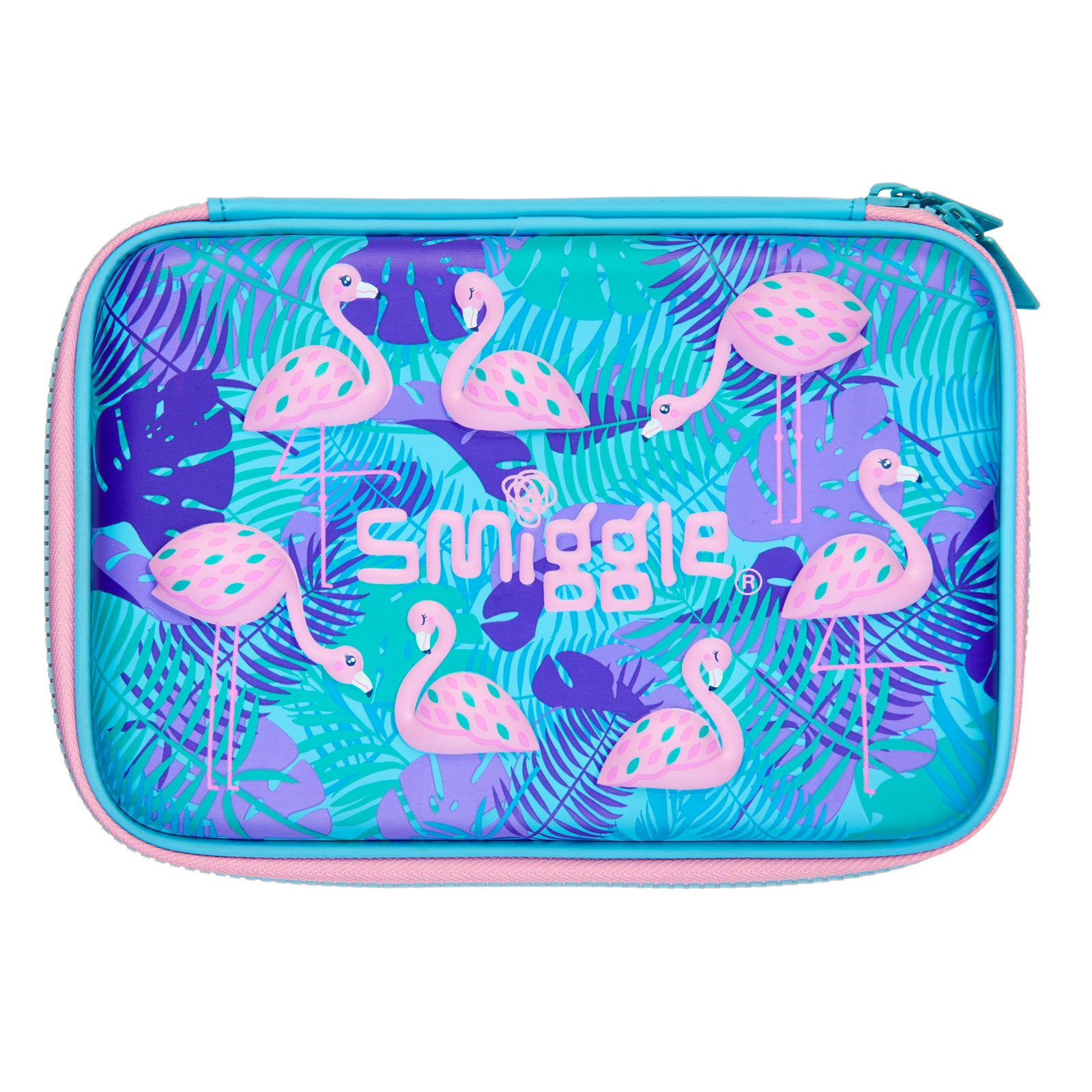 SMIGGLE - HIPPY SMALL HARDTOP PENCIL CASE BLUE - MyVaniteeCase