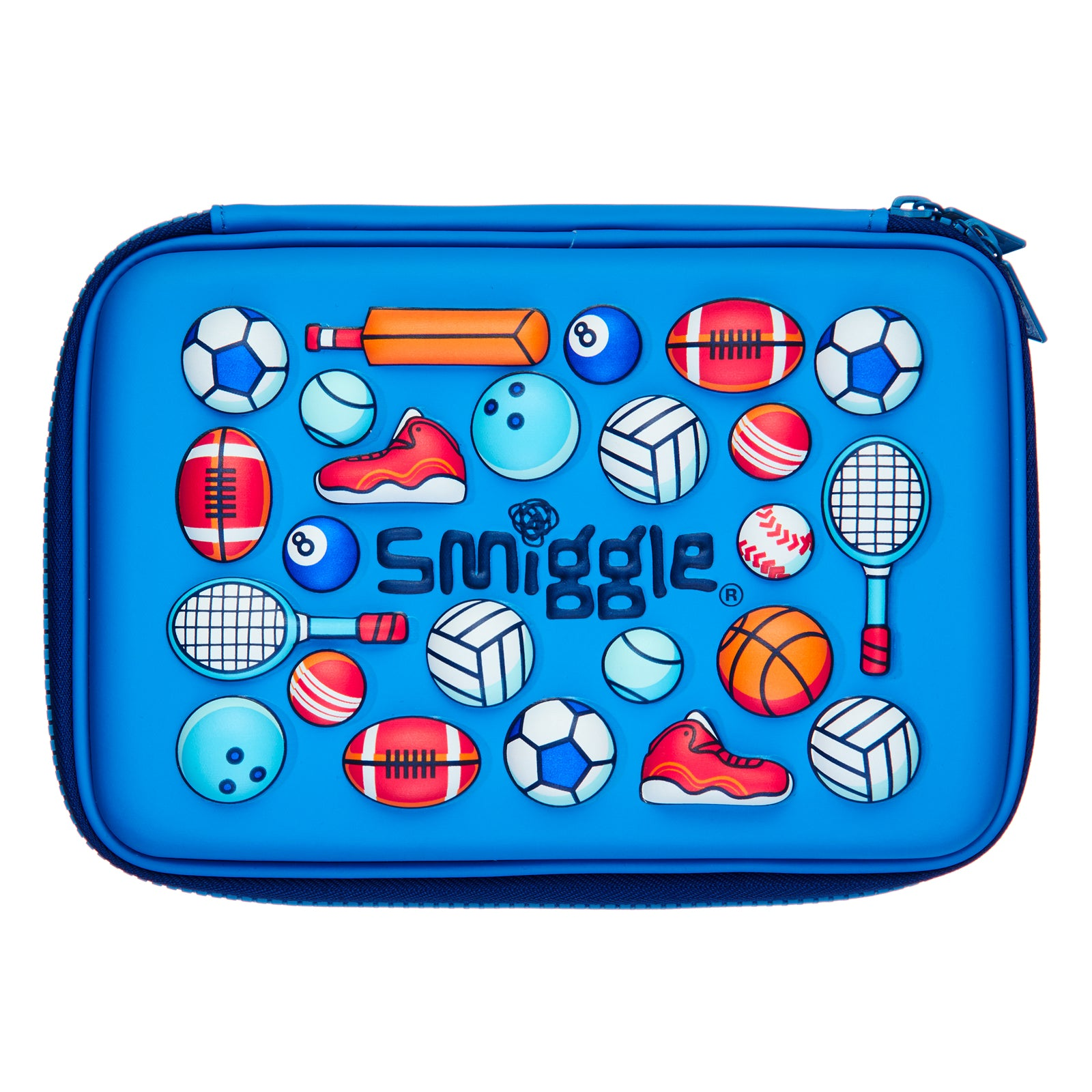SMIGGLE - HIPPY SMALL HARDTOP PENCIL MID BLUE