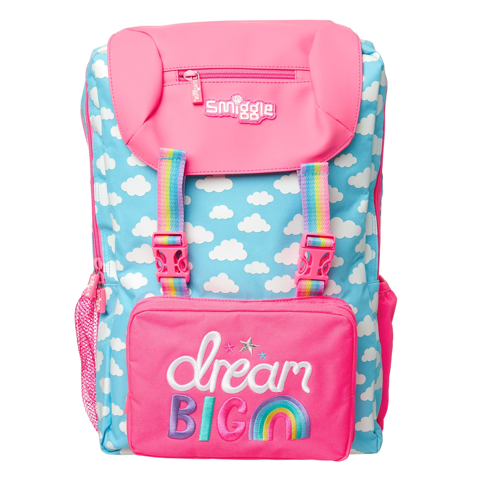 SMIGGLE - FRESH FOLDOVER BACKPACK BLUE