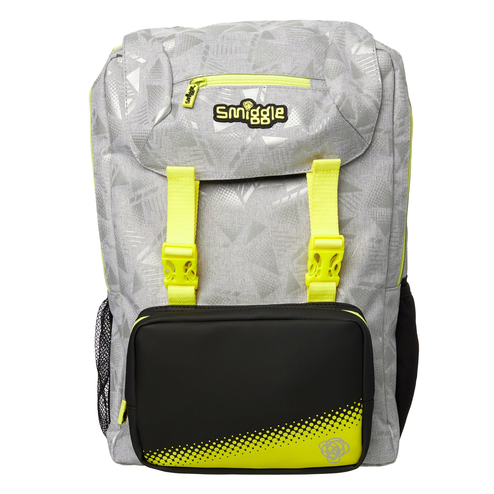 SMIGGLE - FRESH FOLDOVER BACKPACK GRAY