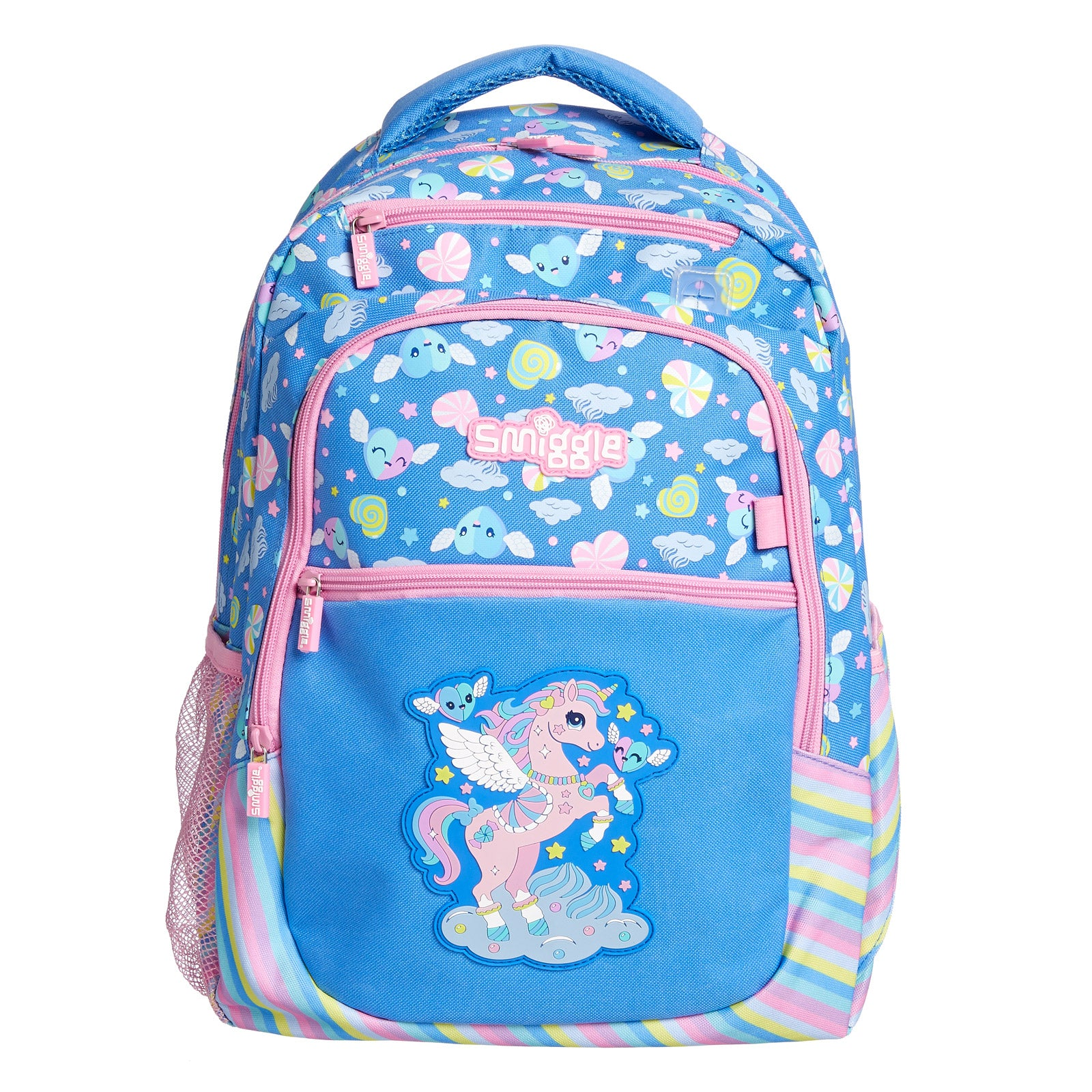 SMIGGLE - DEJA VU BACKPACK PT2 CONFLOWER