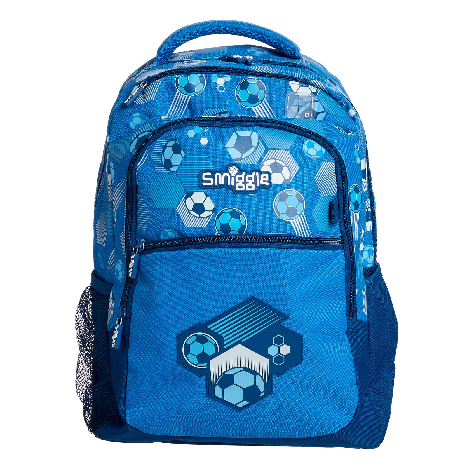 SMIGGLE - DEJA VU BACKPACK PT2 MID BLUE