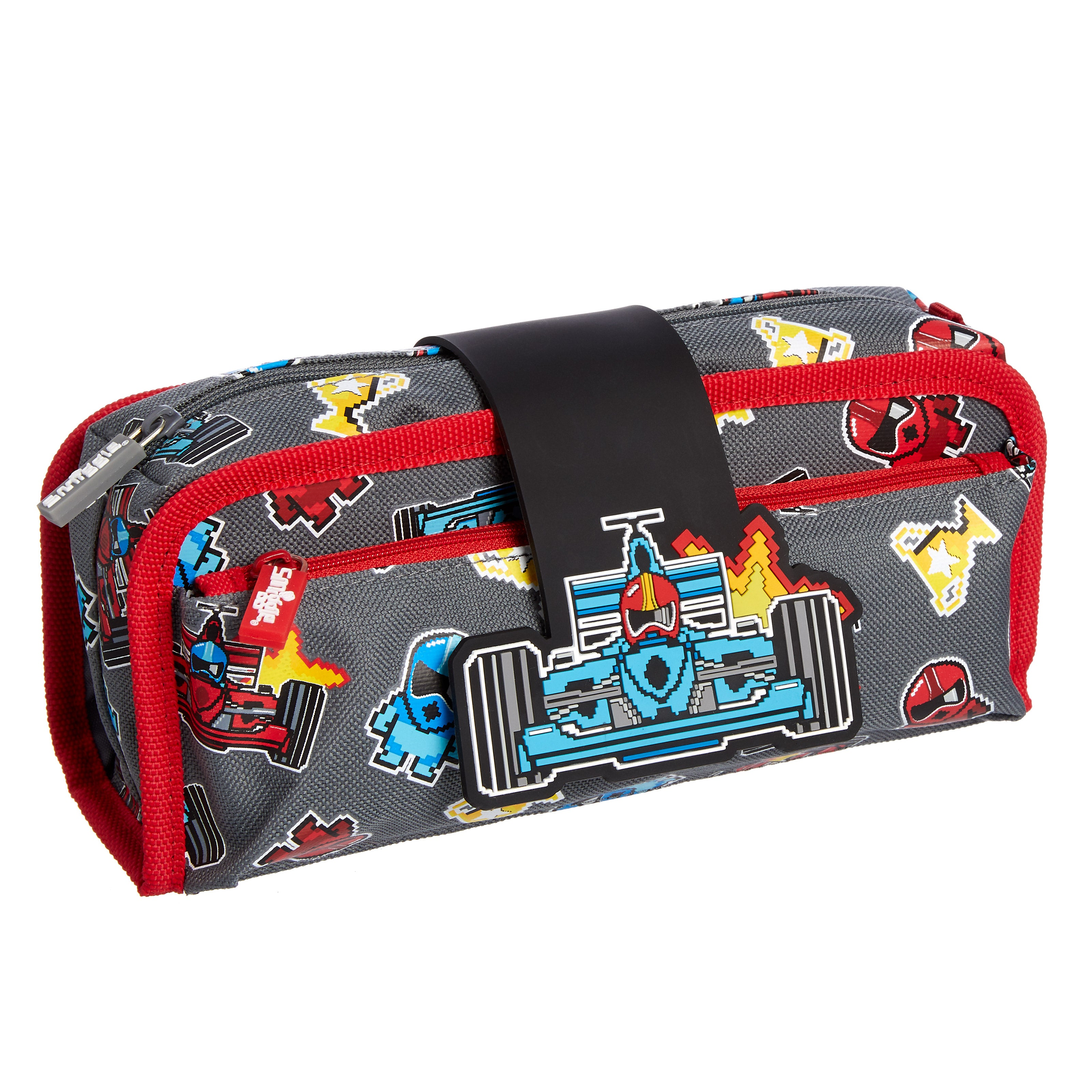 SMIGGLE - DEJA VU UTILITY PENCIL CASE BLACK