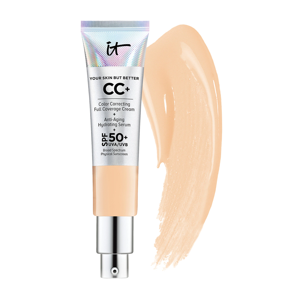 IT COSMETICS - CC+ CREAM WITH SPF 50+ (LIGHT MEDIUM)
