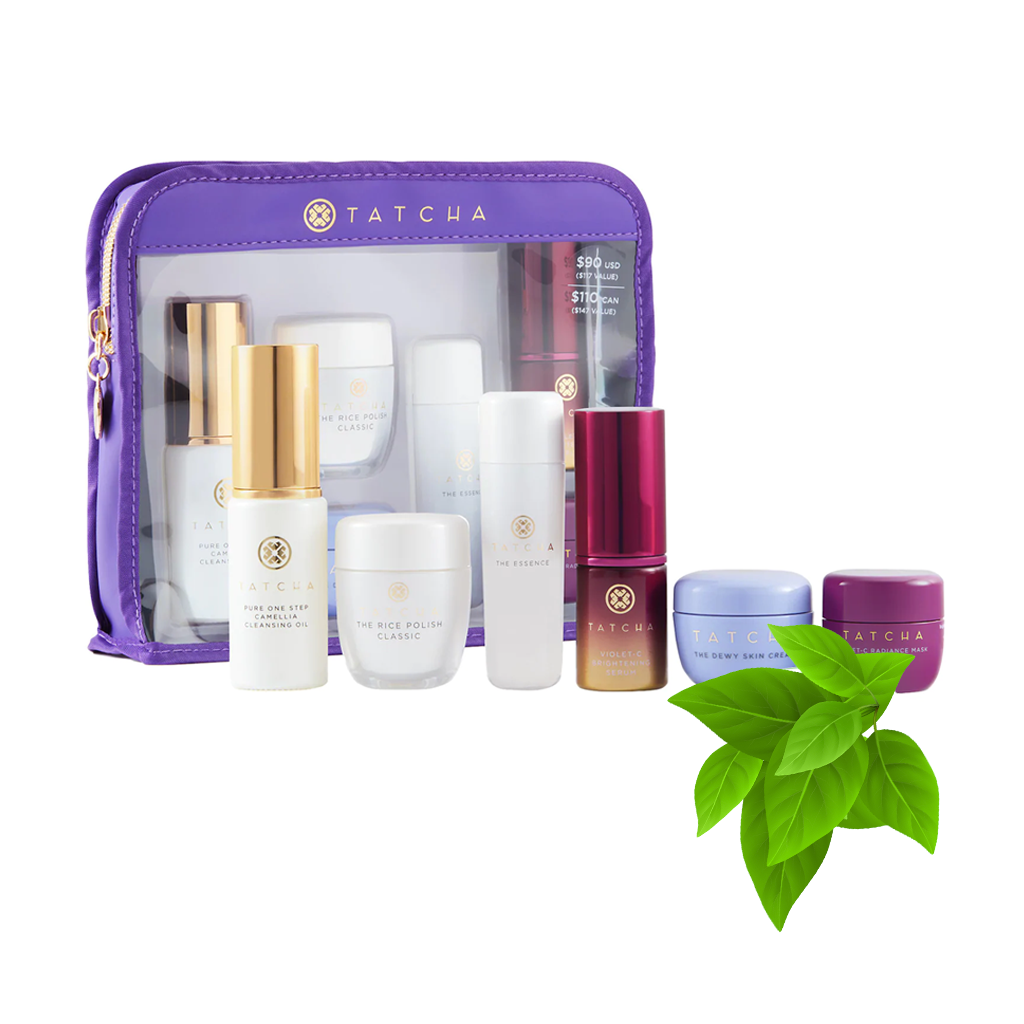 TATCHA - THE RITUAL FOR RADIANT SKIN SET