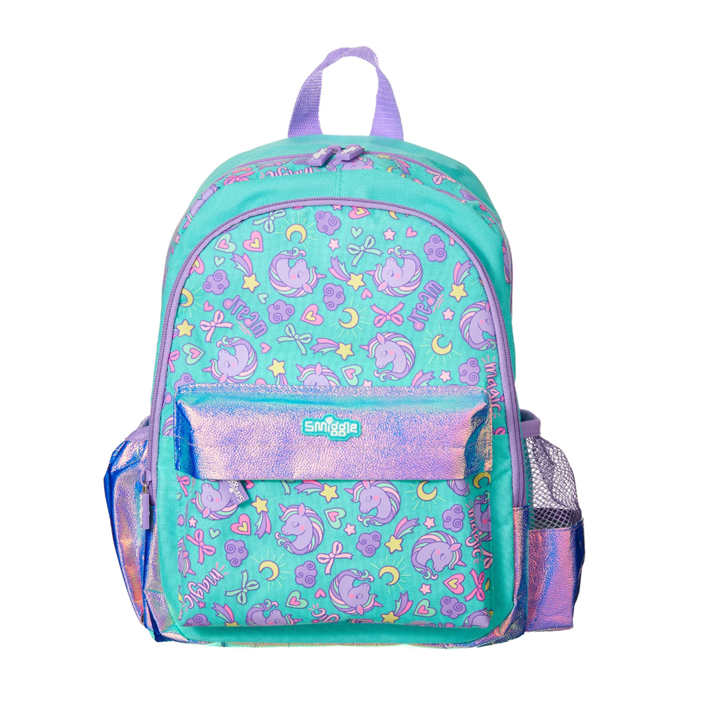 SMIGGLE - WANDER JUNIOR BACKPACK TEAL - MyVaniteeCase