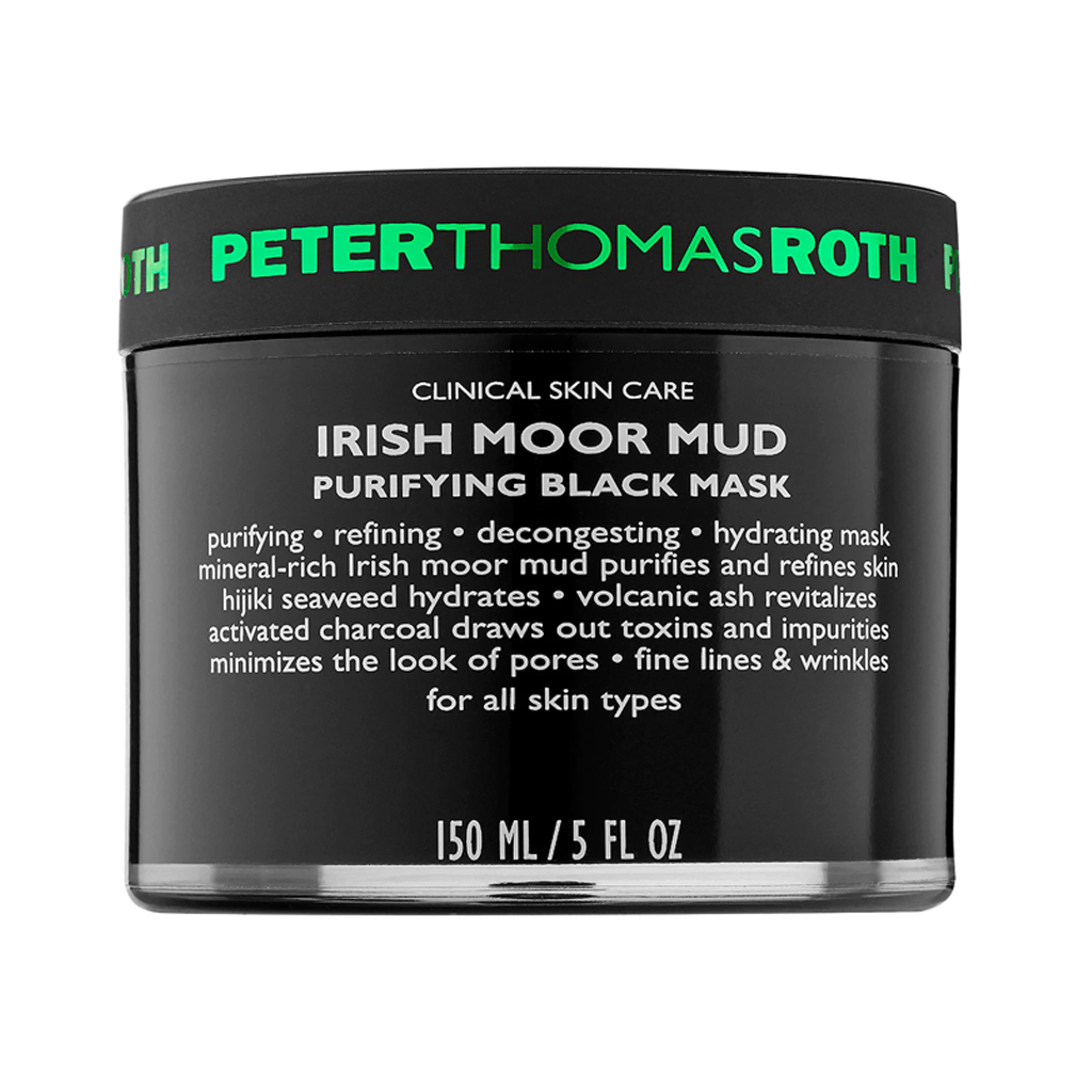 PTR - IRISH MOOR MUD PURIFYING BLACK MASK (150 ML) - MyVaniteeCase