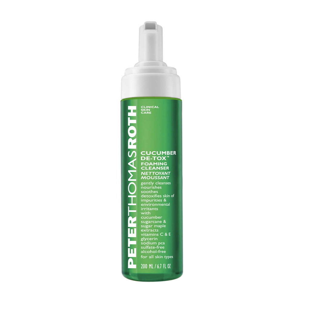 PTR - CUCUMBER DE-TOX FOAMING CLEANSER (200 ML) - MyVaniteeCase