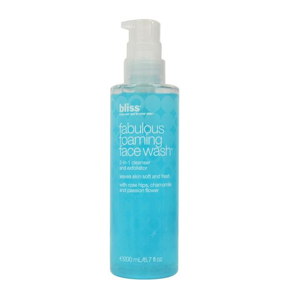 BLISS - FABULOUS FOAMING FACE WASH - MyVaniteeCase