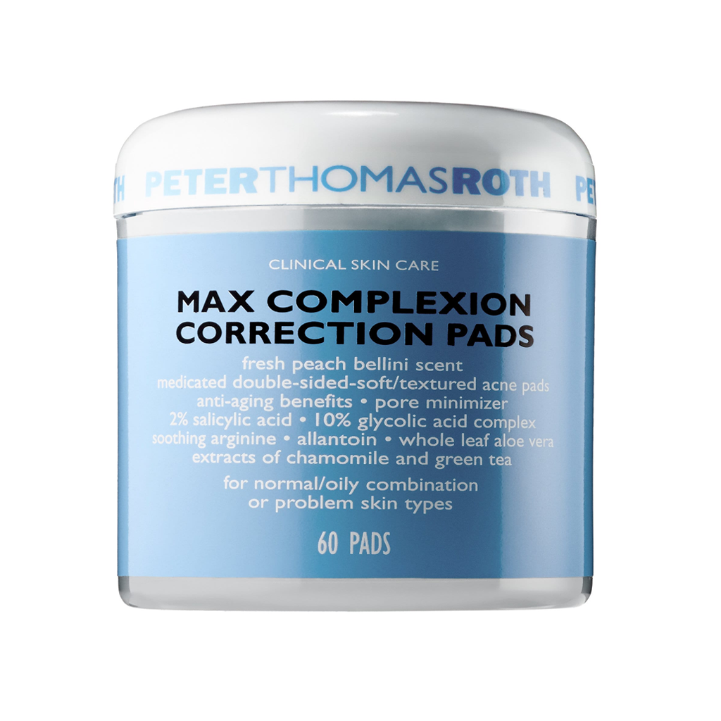 PTR - MAX COMPLEXION CORRECTION PADS 60 PADS