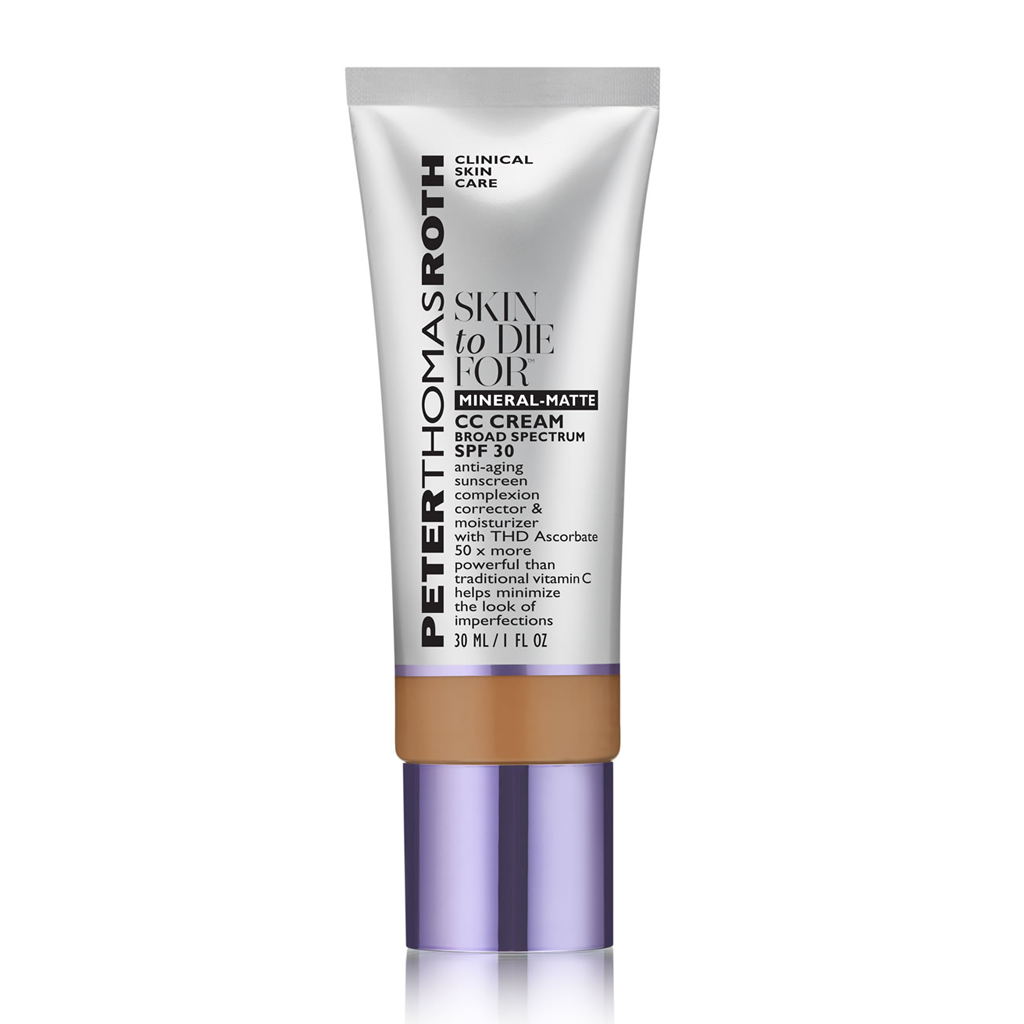 PTR - SKIN TO DIE FOR-MINERAL-MATTE CC CREAM SPF 30 (30 ML)