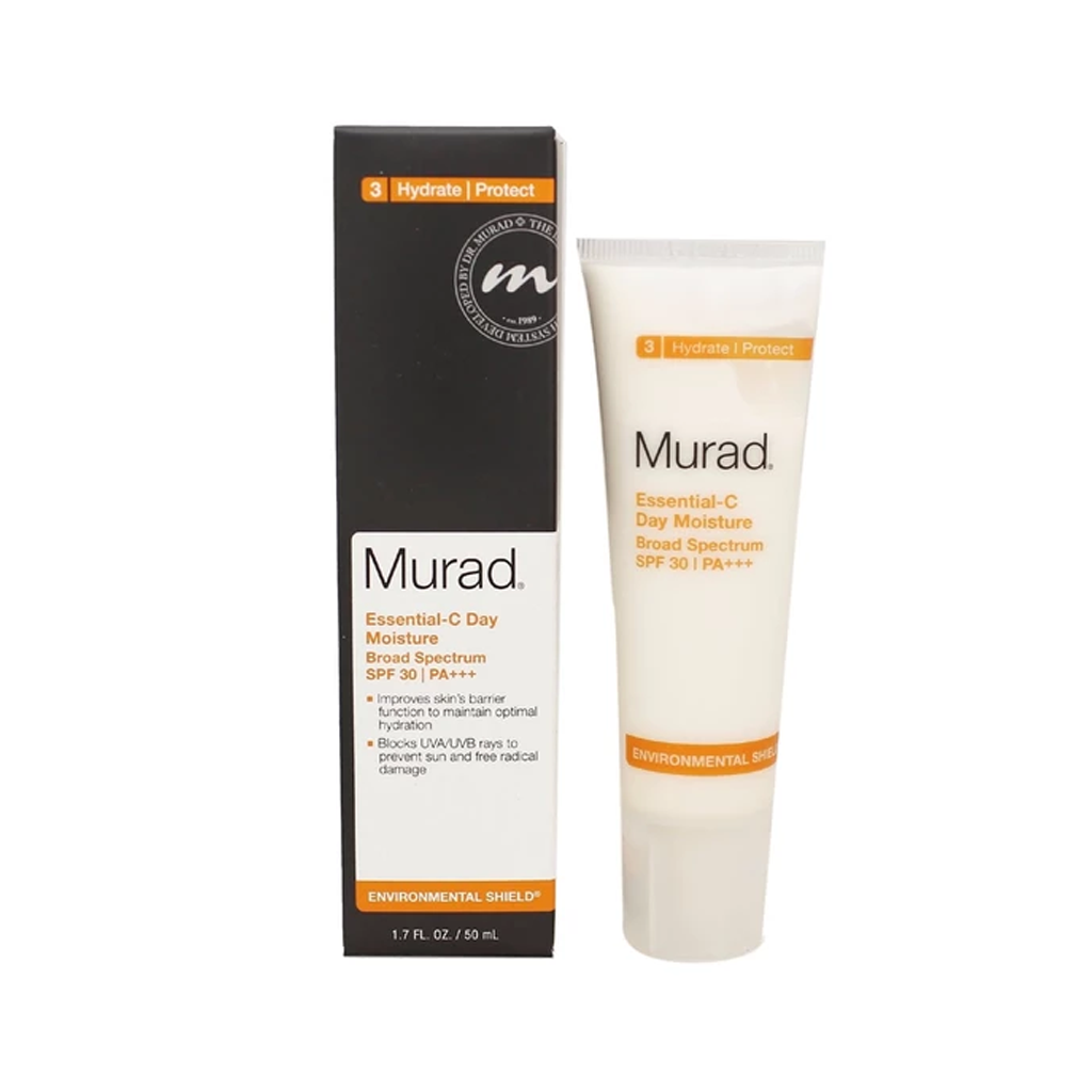 MURAD - ESSENTIAL-C DAY MOISTURE BROAD SPECTRUM SPF 30/PA+++ (3 HYDRATE/PROTECT) - MyVaniteeCase