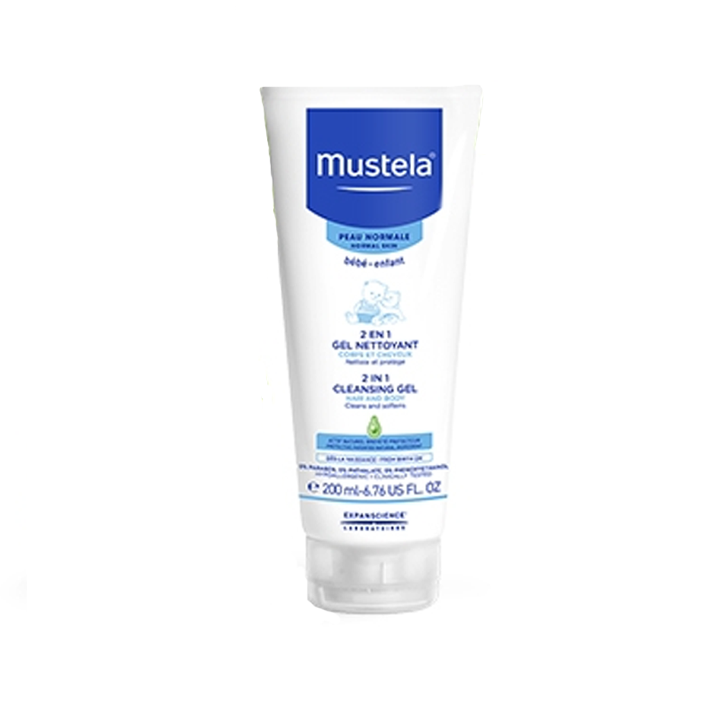 MUSTELA - 2 IN 1 HAIR AND BODY WASH
