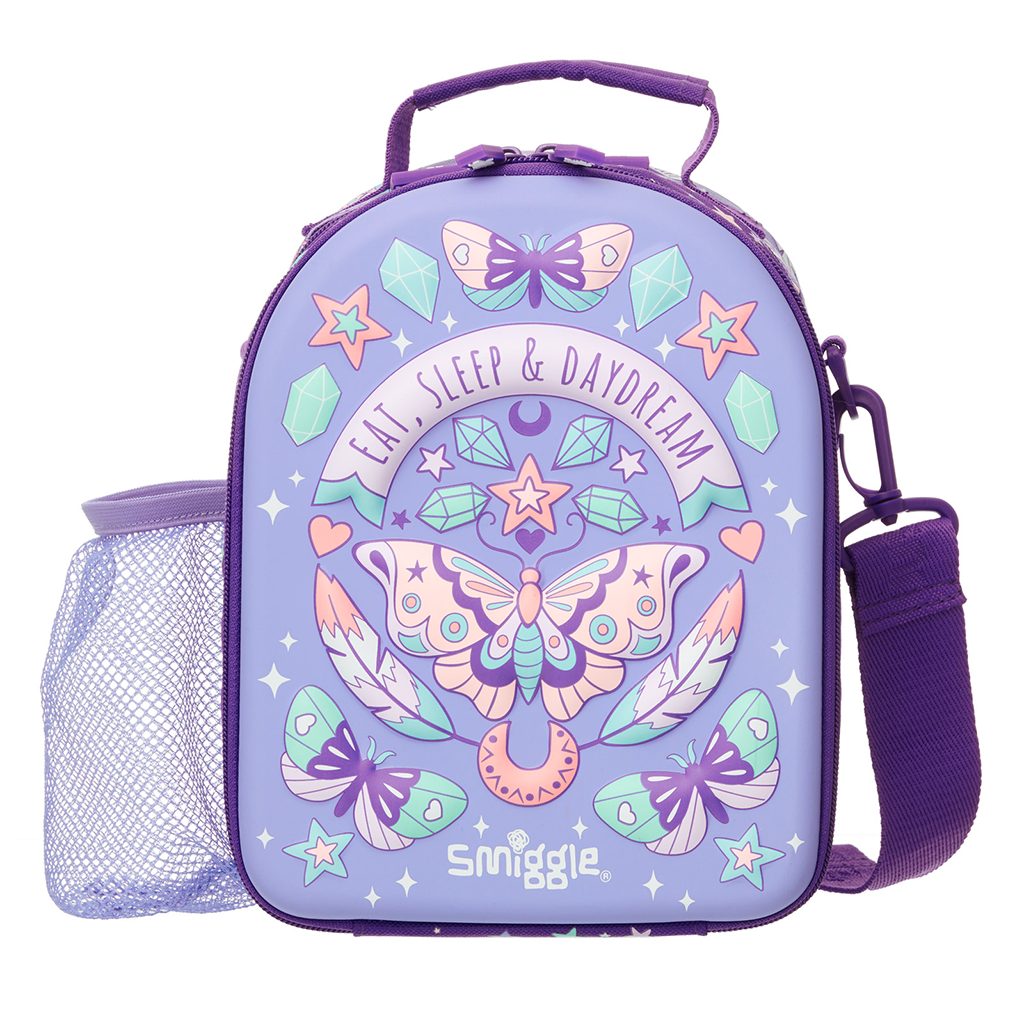 SMIGGLE - EXPRESS CURVE HARDTOP LUNCHBOX LILAC