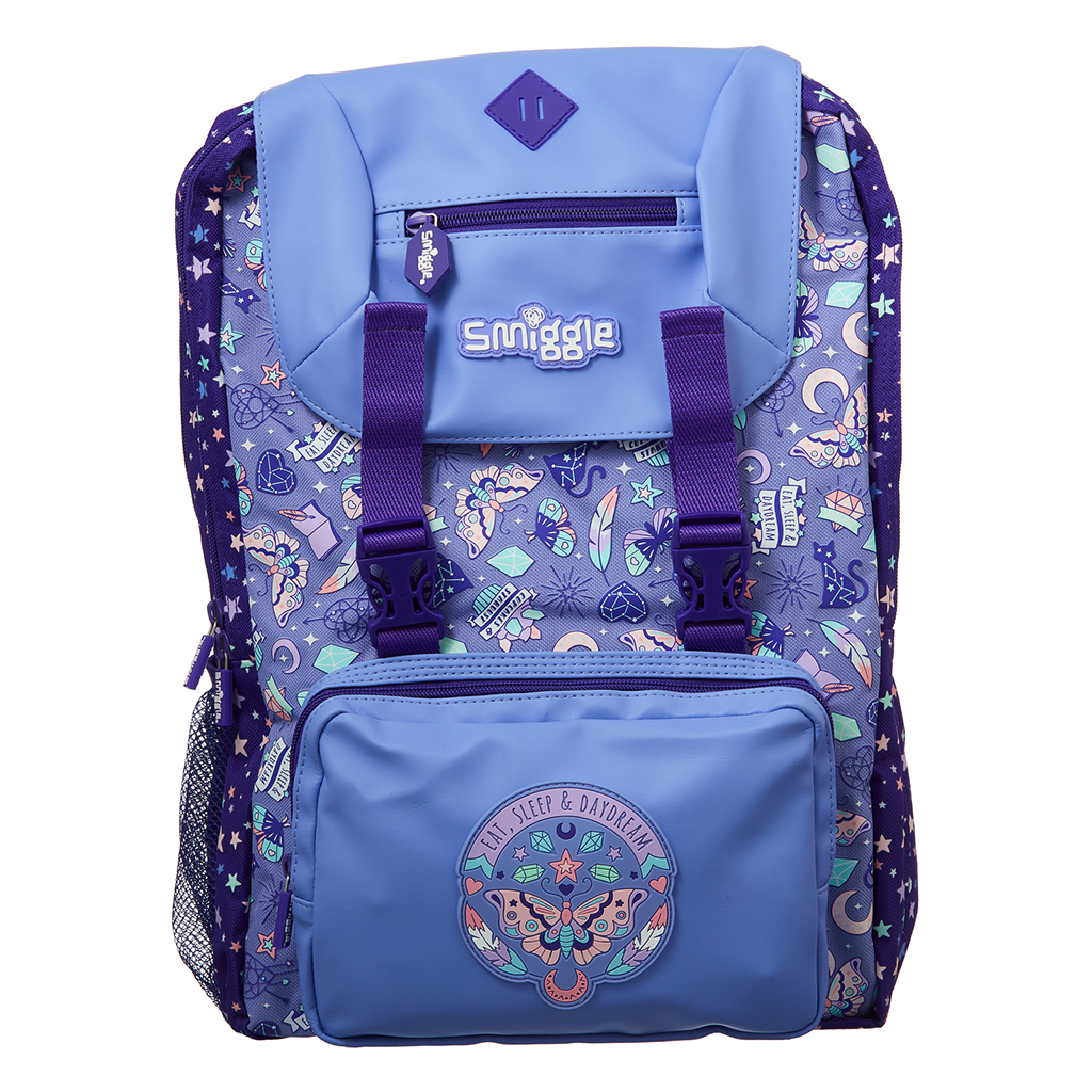 SMIGGLE - EXPRESS FOLDOVER BACKPACK LILAC
