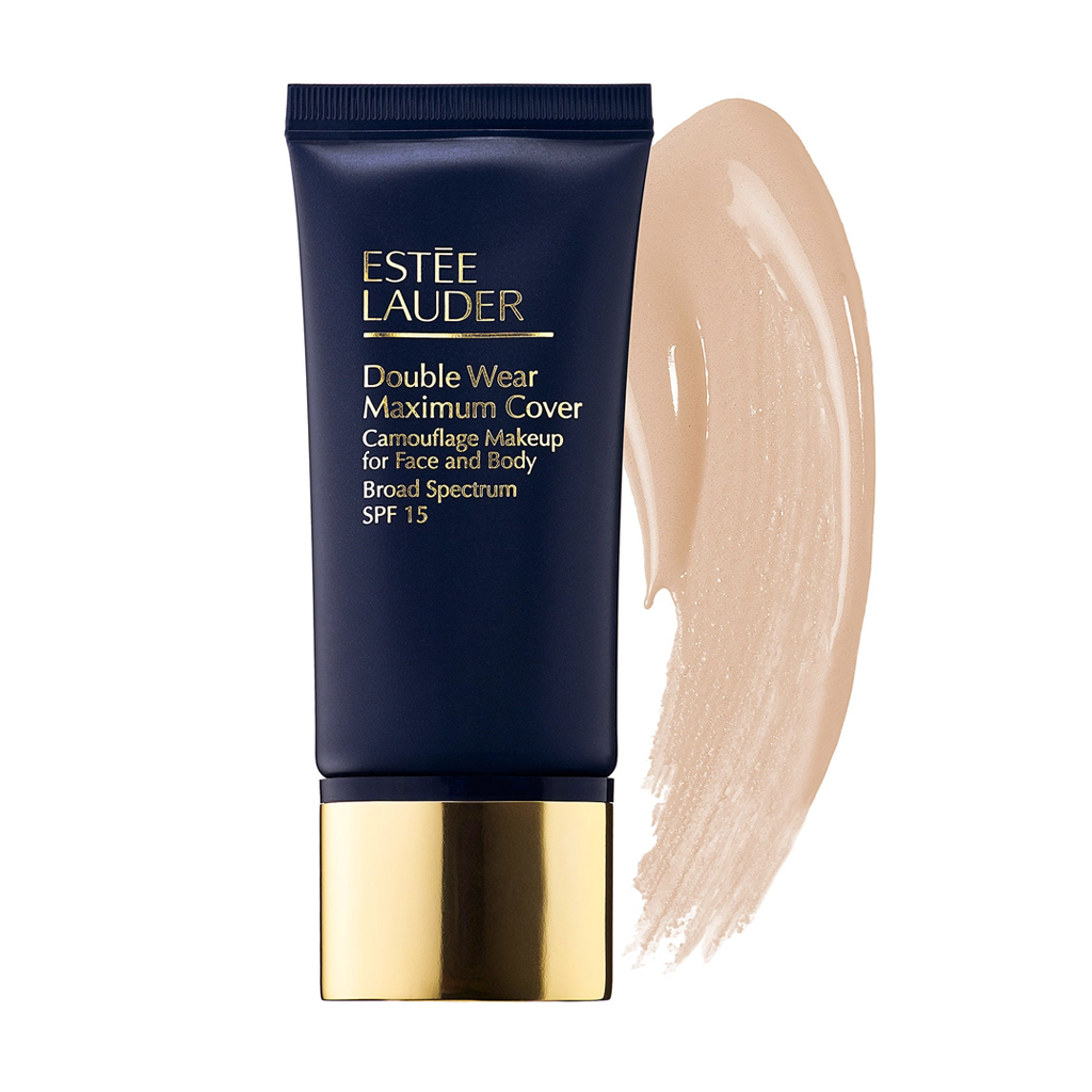 ESTEE LAUDER - DOUBLE WEAR MAXIMUM COVER CAMOUFLAGE FOUNDATION FOR FACE AND BODY SPF 15(CREAMY VANILLA)