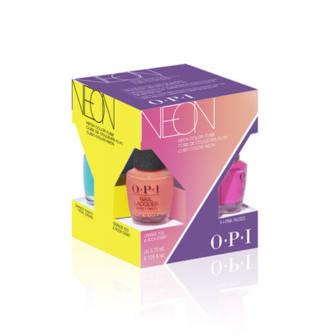 OPI NEON - SUMMER 19 NL - MINI 4 PACK