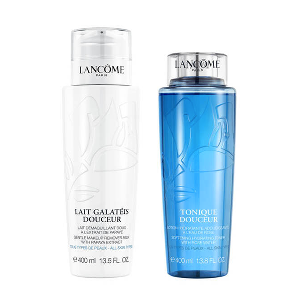 LANCOME - YOUR DOUCEUR CLEANSING DUO INCLUDES MAKE UP REMOVER