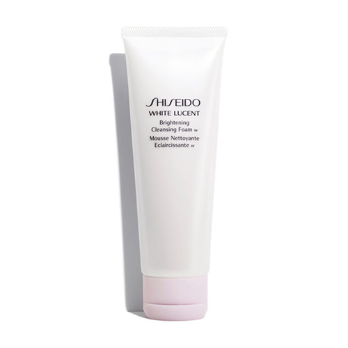 SHISEIDO - WHITE LUCENT BRIGHTENING CLEANSING FOAM - MyVaniteeCase