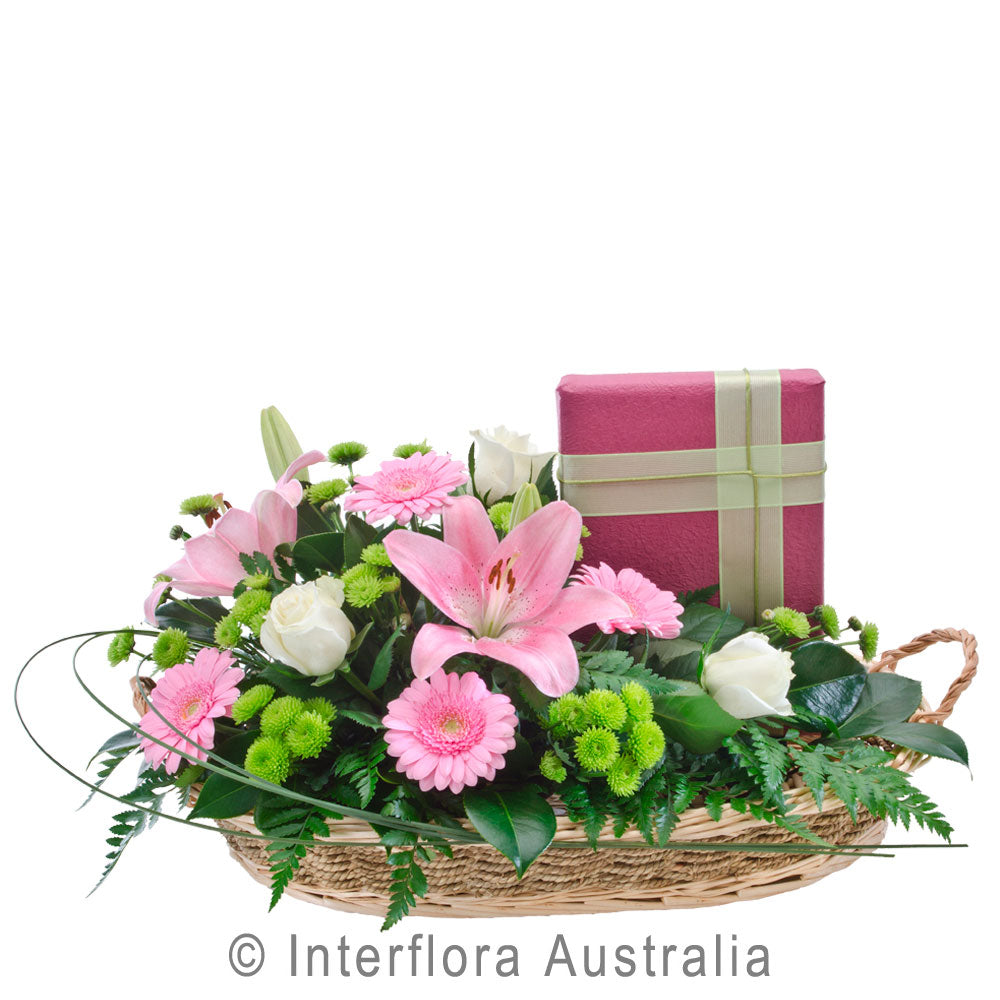 Double Delight Wandin Florist Flowers Blooms Asiatic Lillies Gerberas Carnations Chrysanthemums Roses Chocolates Arrangements Basket Yarra Valley Lilydale Dandenong Ranges