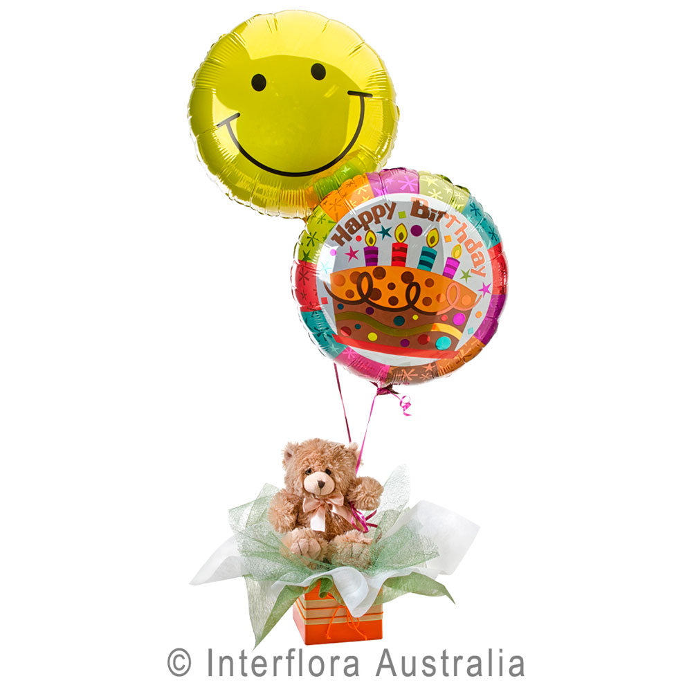 Birthday Surprise Wandin Florist Gifts For Children Helium Foil Balloons Yarra Valley Lilydale