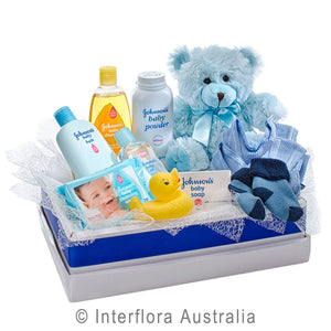 Cuddles For Him Baby Care Items Soft Toy Wandin Florist Flowers Yarra Valley Lilydale