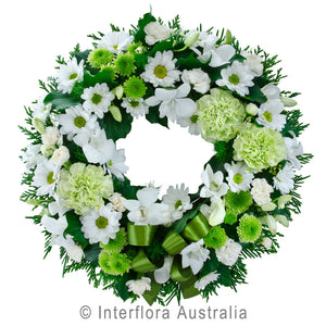 Eternity Wandin Florist Cluster Wreath Flowers Arrangements Yarra Valley Lilydale