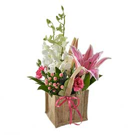 Tara Wandin Florist Singapore Orchids Wedding Flowers Arrangements Bouquet Yarra Valley Lilydale