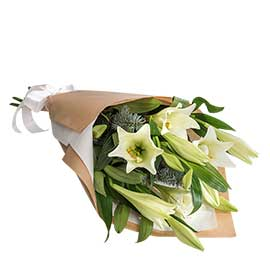 Christmas Bells Wandin Florist Lillies Seasonal Foliage Wedding Flowers Bouquet Yarra Valley Lilydale Dandenong Ranges
