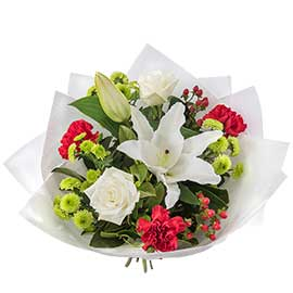 Christmas Cheer Wandin Florist Seasonal Wedding Flowers Bouquet Arrangements Yarra Valley Lilydale Dandenong Ranges
